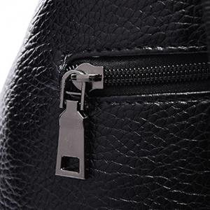 Stylish Solid Colour and Buttons Design Satchel For Women -