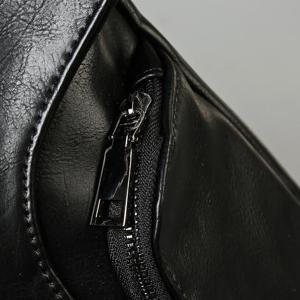 Casual Cover and Zip Design Messenger Bag For Men -