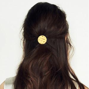 Chic Frosted Round Elastic Hair Band For Women -