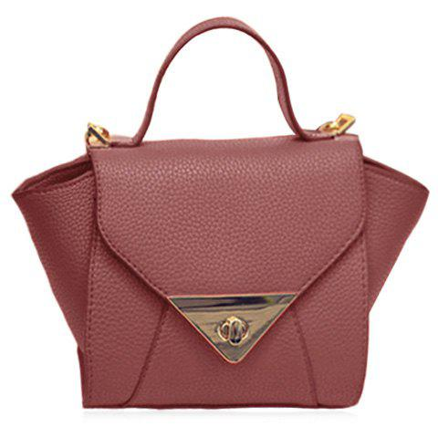 Outfits New Arrival Solid Colour and PU Leather Design Tote Bag For Women