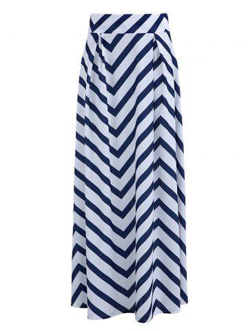 Store Fashionable High-Waisted Zig Zag Women's Skirt
