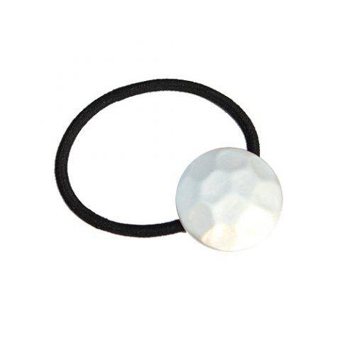 Chic Frosted Round Elastic Band cheveux pour les femmes