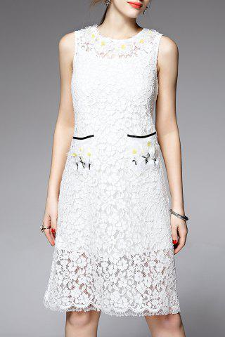 Outfits Cami Dress and Sleeveless Lace Dress Twinset