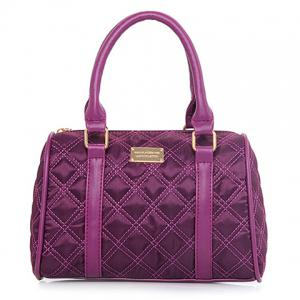 Fashion PU Leather and Ruched Design Women's Shoulder Bag -