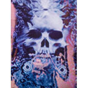 Fashion 3D Men's Round Neck Skulls Printed Tank Top -