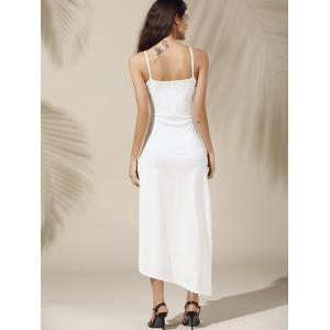 Long Slit Asymmetric Cami Dress -