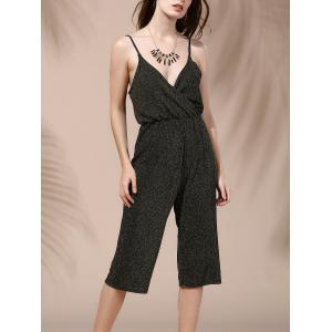 Alluring Plunging Neck Backless Solid Color Women's Jumpsuit