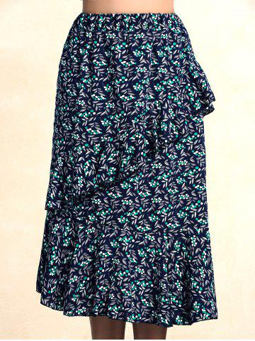 Outfits Stylish Elastic Print Skirt For Women