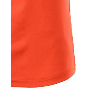 Fashion Turn-down Collar Solid Color Short Sleeves Polo T-Shirt For Men -