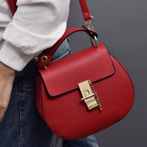 Simple Hasp and Solid Color Design Tote Bag For Women -