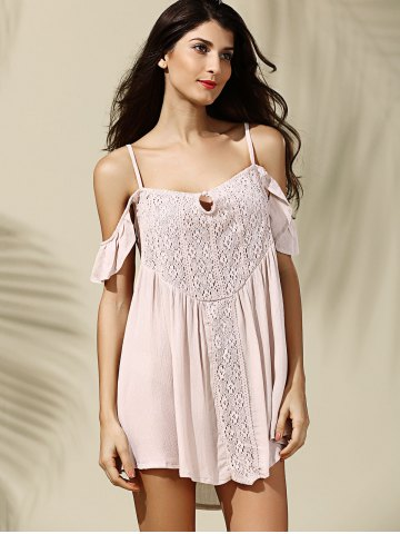 Chic Off-The-Shoulder Asymmetrical Casual Dress