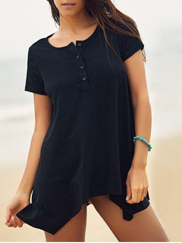 Fashion Asymmetric Oversized Long T-Shirt