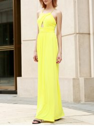 Backless Floor Length Formal Long Dress