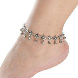 Chic Flower Ball Pendant Leg Anklet