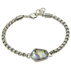 Chic Irregular Faux Crystal Bracelet For Women -