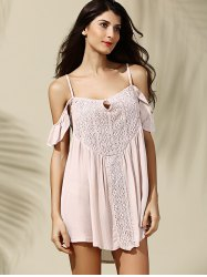 Off-The-Shoulder Asymmetrical Casual Dress -