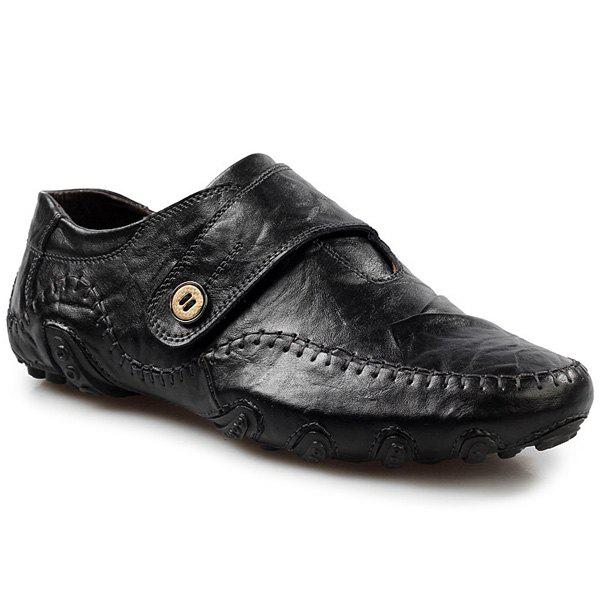New Stylish Stitching and Button Design Casual Shoes For Men