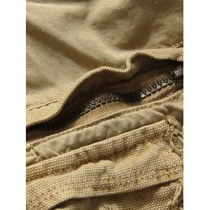 Loose Fit Multi-pockets Solid Color Men's Cargo Shorts -