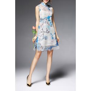 Cami Dress and See-Through Dress Twinset -