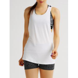 Sport Style Racerback Printed Tank Top For Women -