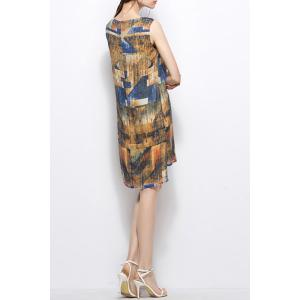 Abstract Print Dress -