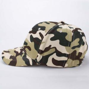 Stylish Soldier Camouflage Pattern Baseball Cap For Men -