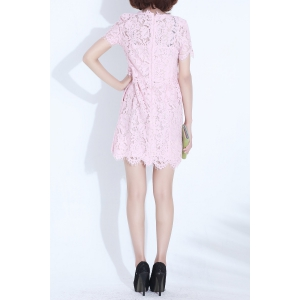Slimming Lace Dress -