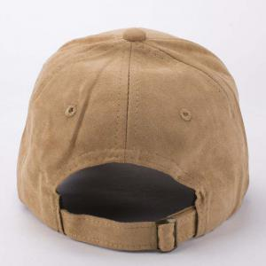 Stylish Cartoon Dog Head Embroidery Hot Summer Suede Baseball Cap For Men -