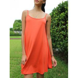 Short Slip Shift Dress