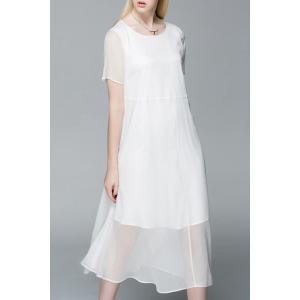 Midi Chiffon Dress -