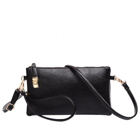 Latest Leisure Metal and Solid Colour Design Clutch Bag For Women