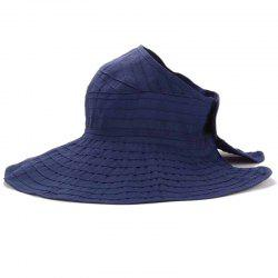 Chic Summer Travelling Portable Style Open Top Sun Hat For Women -