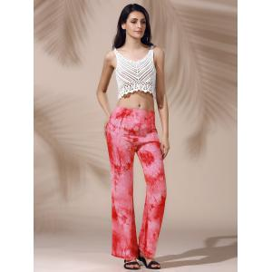 Stylish Floral Print Loose Fitting Straight Pants For Women -