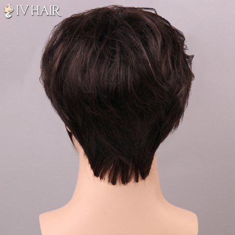 Discount Shaggy Siv Hair cCurly Human Hair Wig For Men - JET BLACK  Mobile