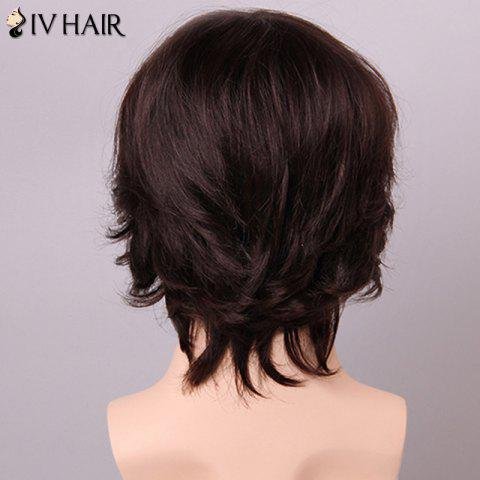 Shops Siv Hair Fashion Side Bang Human Hair Wig For Men - GOLDEN BROWN WITH BLONDE  Mobile
