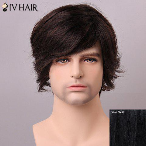 Buy Siv Hair Fashion Side Bang Human Hair Wig For Men