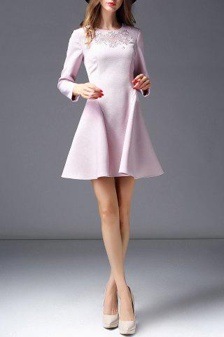 Best Long Sleeve Embroidered Dress