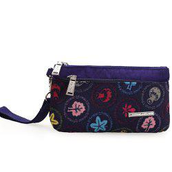 Casual Print and Nylon Design Clutch Bag For Women -