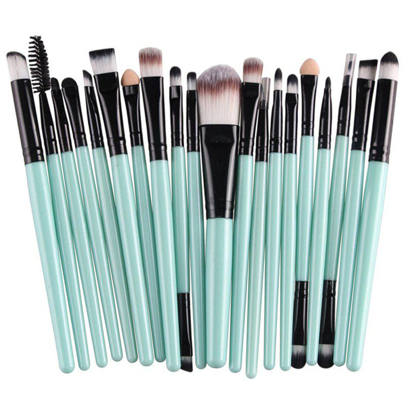 Stylish 20 Pcs Multifunction Plastic Handle Nylon Makeup Brushes Set от Rosegal.com INT