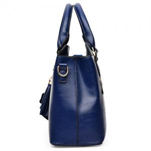 Concise Pendant and Solid Color Design Tote Bag For Women -