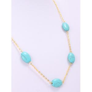 Chic Women's Beads Decorated Necklace -