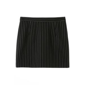 Striped Mini Skirt -