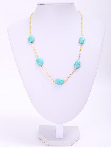 Cheap Chic Women's Beads Decorated Necklace