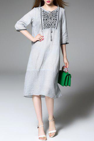 Chic Loose A Line Dress
