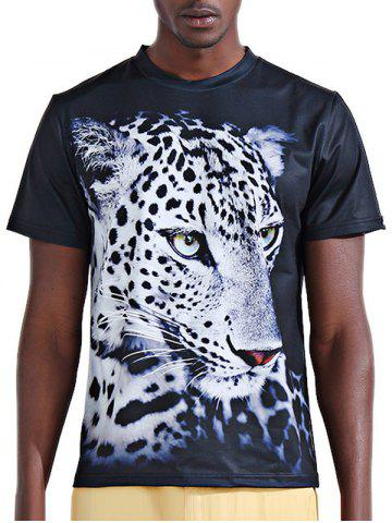 7f414d3ac0367e Short Sleeve Leopard Print Shirt - Free Shipping, Discount And Cheap ...