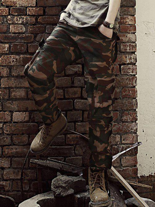 New Straight Leg Camouflage Military Army Cargo Pants