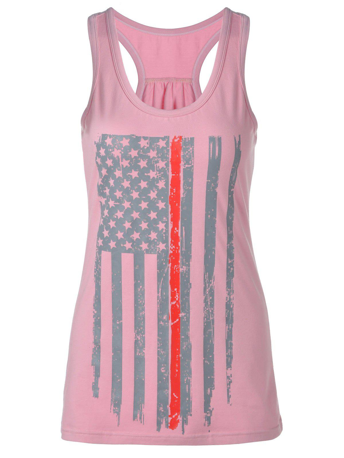 Best Distressed American Flag Patriotic Tank Top