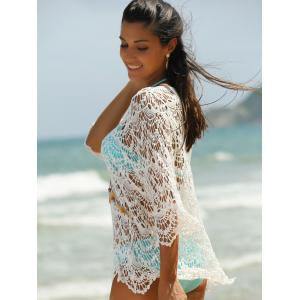 Hollow Out Lace Swimsuit Cover-Ups -