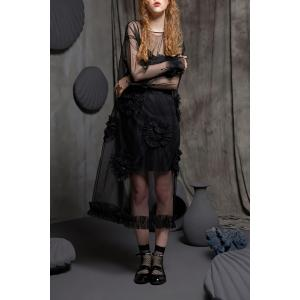 Sheer Heart Shirred Dress -