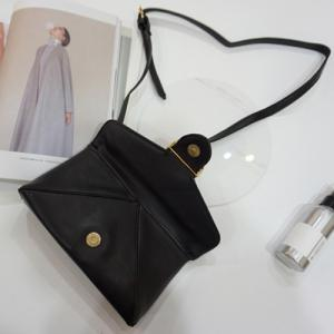 Fashion Black Color and Metal Design Clutch Bag For Women -